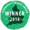 Community Energy Award Winner 2018